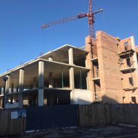 Хід будівництва «River Plaza» станом на лютий 2019