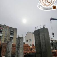 """Хід будівництва ЖК """"Гетьманський"""" в лютому 2019"""