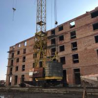 Фотозвіт з будівництва IV черги ЖК «7 Квартал» поблизу парку Шевченка в лютому 2019