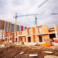 """Як триває будівництво ЖК """"Містечко Козацьке"""" в лютому 2019"""