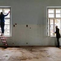 У Івано-Франківську наводять лад в Палаці Потоцьких. ФОТО