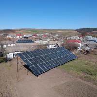 Сонячну електростанцію потужністю 25 кВт встановили в Лучинцях
