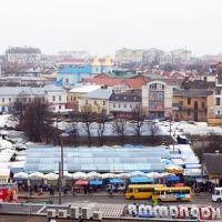 У середмісті Івано-Франківська на місці ринку вимагають зробити громадський простір