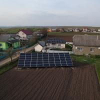 В Нових Кривотулах запустили сонячну електростанцію