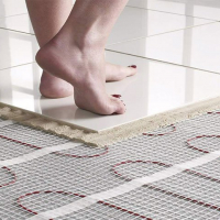Переваги теплої підлоги у містечку Липки