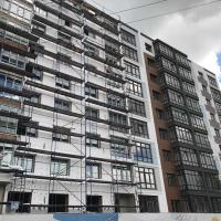 Завершується будівництво будинку по вул.Берегова від будівельної компанії «Франківський Дім»!