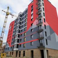Хід будівництва IV черги ЖК «7 Квартал» поблизу парку Шевченка вкінці травня 2019