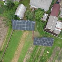 Сонячну електростанцію для дому потужністю 30 кВт встановили в Лісному Хлібичині