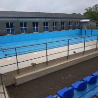На Прикарпатті споруджують перший відкритий басейн