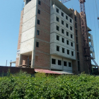 Хід будівництва «River Plaza» у червні 2019