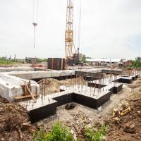 Хід будівництва ЖК Містечко Мануфактура в червні 2019