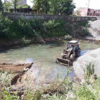 Біля скандальної забудови на Мазепи, 144 продовжують викопувати котлован