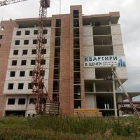 Хід будівництва «River Plaza» в липні 2019