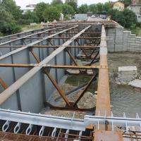 В Косові триває будівництво мосту через Рибницю. ФОТО