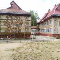 У Франківську перестали утеплювати дитячий садок через художній розпис на стінах. ФОТО