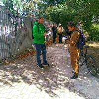 За будівельне сміття на Валах муніципали склали протокол на священника
