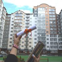 У Франківську в «Містечку центральному» заклали капсулу у фундамент нової сучасної школи. ФОТО