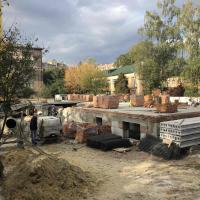 Хід будівництва житлового будинку по вул. Короля Данила у жовтні 2019