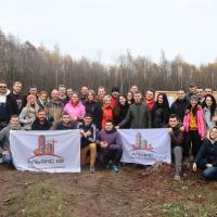"""Команда БК """"АЛЬЯНС ІФ"""" висадила близько 5 тис. дерев у Ямницькому лісництві"""