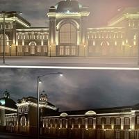 В Івано-Франківську підсвітять залізничний вокзал