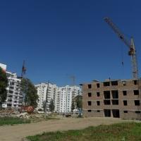 Фото-звіт з будівництва житлового комплексу поблизу парку ім.Шевченка станом на серпень