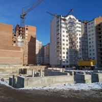 """Хід будівництва ЖК """"Містечко Центральне"""" у грудні. ФОТО"""