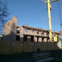 Хід будівництва ЖК по вулиці Короля Данила у грудні. ФОТО