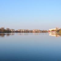 Реконструкція міського озера підходить до завершення