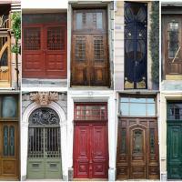 В Івано-Франківську створили мапу відреставрованих дверей
