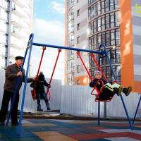 В Містечку Соборному відкрили дитячий майданчик. ФОТО