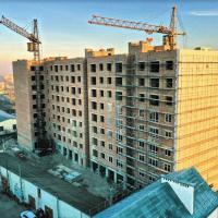 """Хід будівництва ЖК """"Гетьманський"""" у січні. ФОТО"""