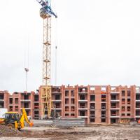 """Стан будівництва ЖК """"Містечко Мануфактура"""" у січні. ФОТО"""