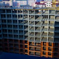 Стан будівництва житлового комплексу Comfort Park в січні. ФОТО