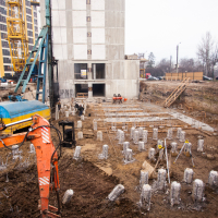 Хід будівництва ЖК Lystopad у cічні. ФОТО
