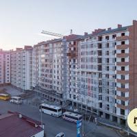 Хід будівництва ЖК по вулиці Горбачевського у січні. ФОТО