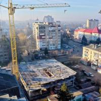 Хід будівництва ЖК «King Hall» у січні 2020. ФОТО
