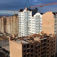 Фотозвіт з будівництва ЖК Містечко Центральне в лютому