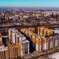 """Хід будівництва ЖК """"Паркова алея"""" станом на лютий 2020. ФОТО"""