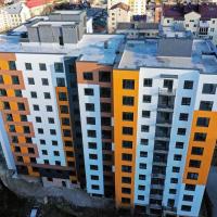Стан будівництва ЖК по вул Незалежності від Альянс ІФ в лютому. ФОТО