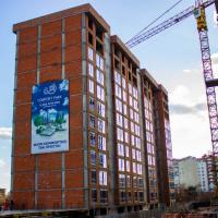 Стан будівництва житлового комплексу Comfort Park в лютому. ФОТО, ВІДЕО