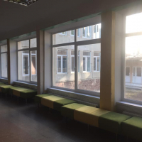 У двох навчальних закладах міста відновили внутрішні відкоси після заміни вікон