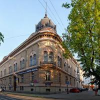 Знайомимось з історичними будівлями Івано-Франківська. Австро-Угорський банк