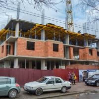 Хід будівництва ЖК «King Hall» у березні 2020. ФОТО