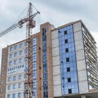 Хід будівництва «River Plaza» у березні 2020. ФОТО