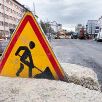 В Івано-Франківську тривають роботи зі з'єднання бульварів