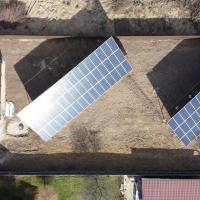Сонячну електростанцію для дому потужністю 30 кВт встановили в Лисці