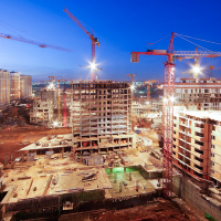 На Прикарпатті зведення житлових будівель збільшилось на чверть