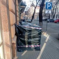 У Франківську незаконно влаштувати вхід у підвал пам'ятки архітектури. ФОТО