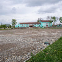 В Чернієві споруджують стадіон. ВІДЕО