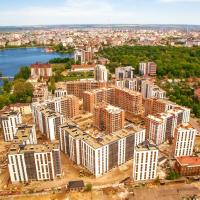 """Як проходить будівництво в містечку """"Липки"""". ФОТО"""